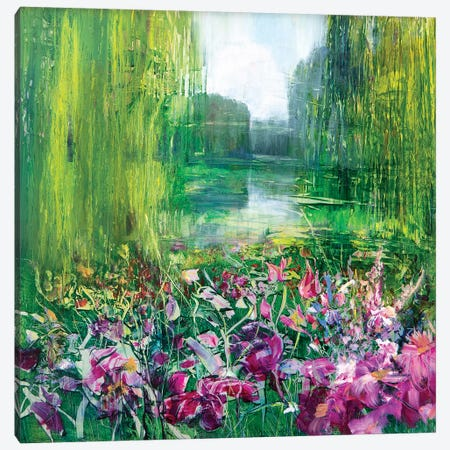 Giverny Canvas Print #WLM6} by Jen Williams Canvas Print