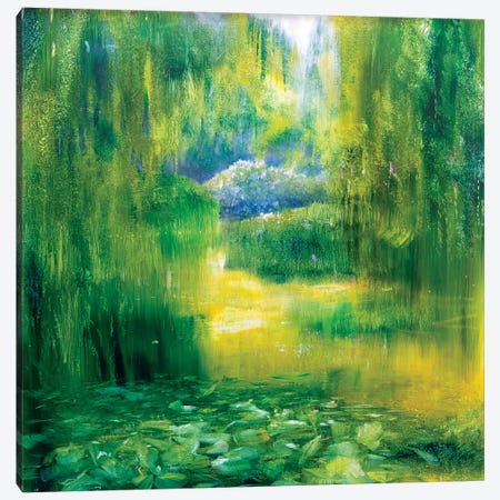 Giverny II Canvas Print #WLM7} by Jen Williams Art Print