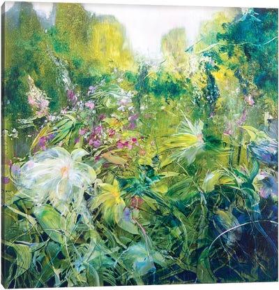 Glistening Gardens Canvas Art Print
