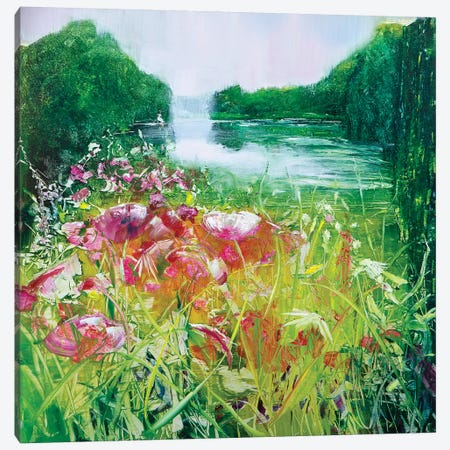 Glorious Gardens Canvas Print #WLM9} by Jen Williams Canvas Art