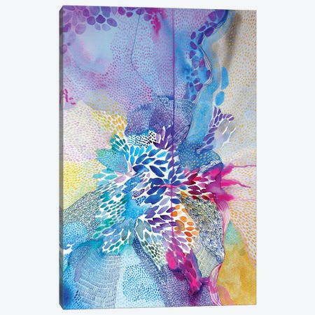 Life's Rich Tapestry Canvas Print #WLS11} by Helen Wells Canvas Art Print