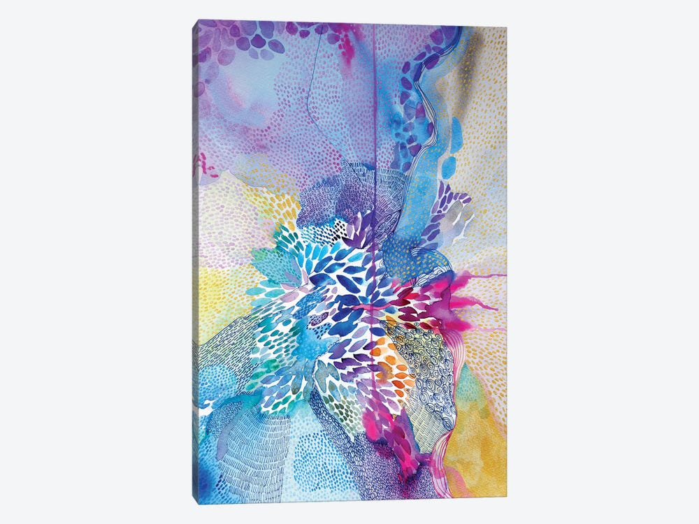 Life's Rich Tapestry by Helen Wells 1-piece Canvas Artwork