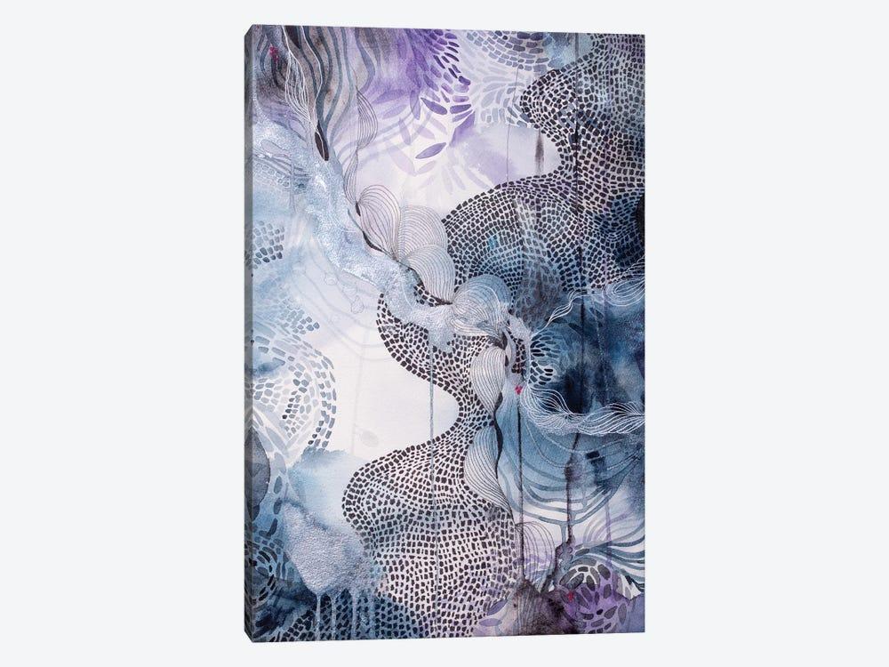 Midnight Waters by Helen Wells 1-piece Canvas Art