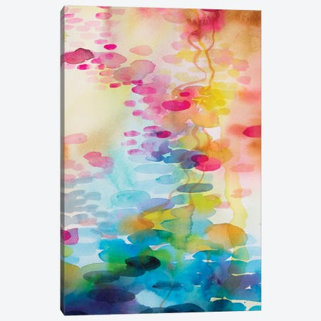 Reflections On Water II Canvas Print #WLS21} by Helen Wells Canvas Art