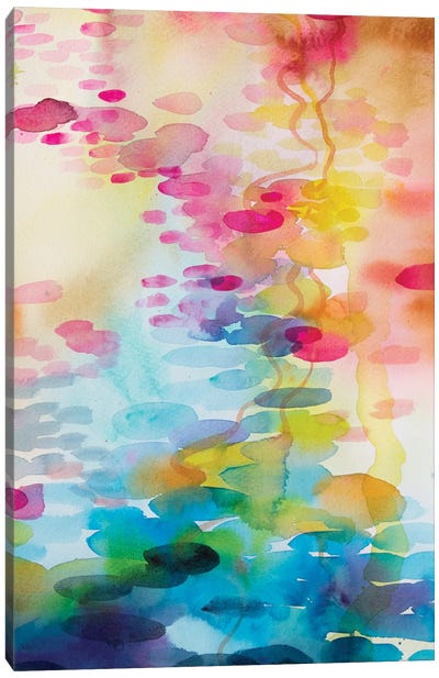 Reflections On Water II Canvas Art Print