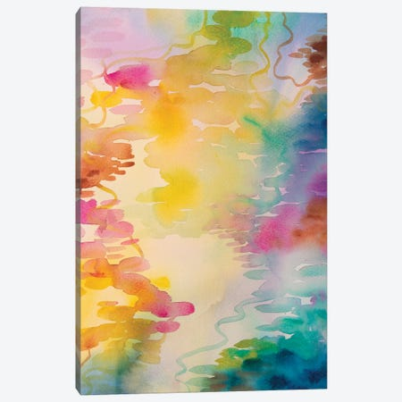 Reflections On Water IV Canvas Print #WLS23} by Helen Wells Canvas Wall Art