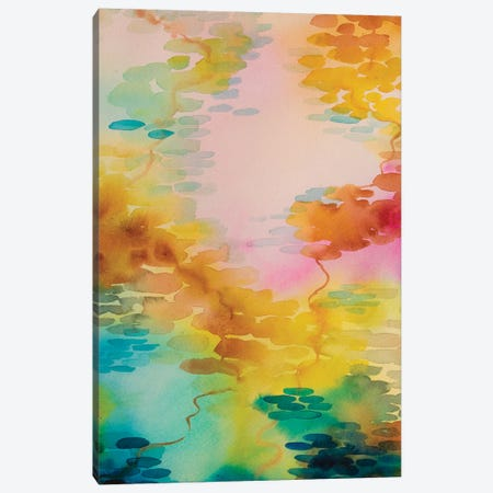 Reflections On Water VI Canvas Print #WLS25} by Helen Wells Canvas Art Print