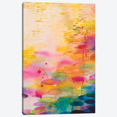 Reflections On Water VII Canvas Print #WLS26} by Helen Wells Canvas Art Print