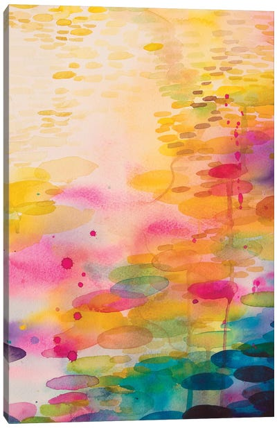 Reflections On Water VII Canvas Art Print