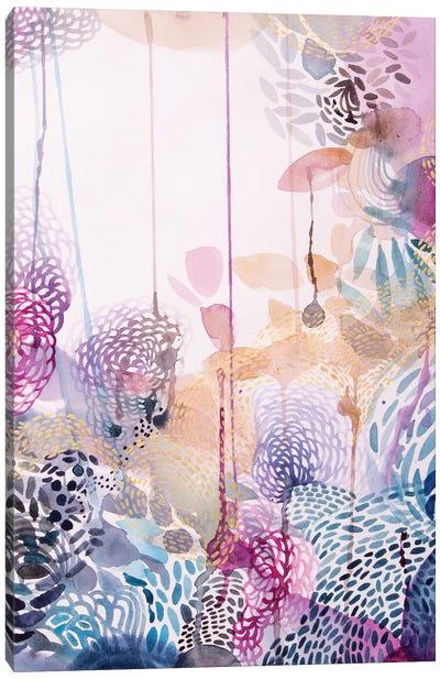 The Watercolour Garden Canvas Art Print
