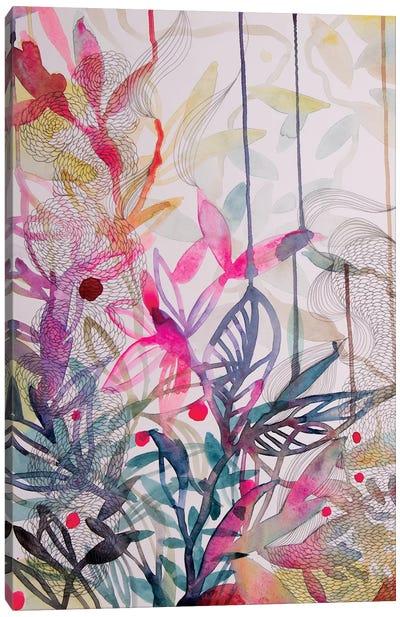 The Wonderful Garden I Canvas Art Print