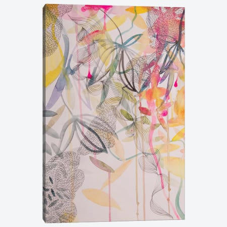 The Wonderful Garden II Canvas Print #WLS32} by Helen Wells Canvas Print