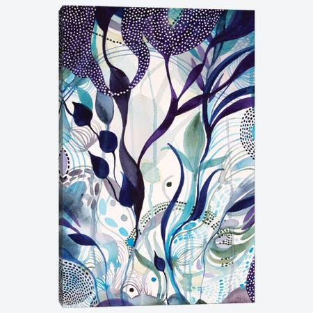Bright And Bold Canvas Print #WLS36} by Helen Wells Canvas Artwork