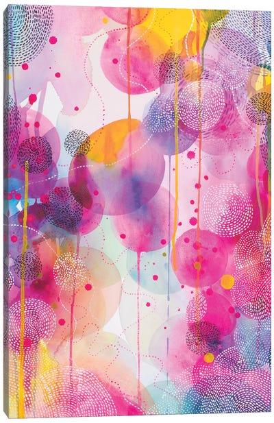Our Colourful Dance Canvas Art Print