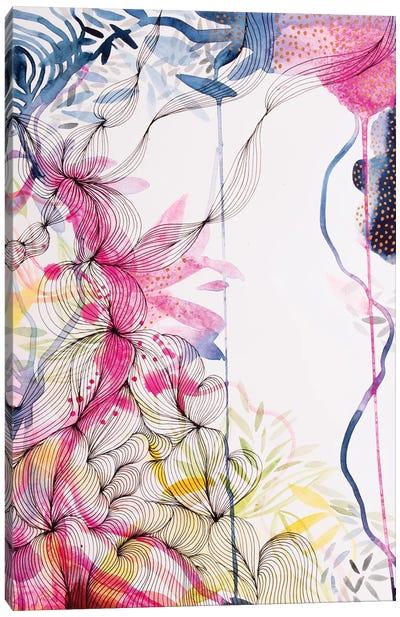 Our Colourful Garden Canvas Art Print