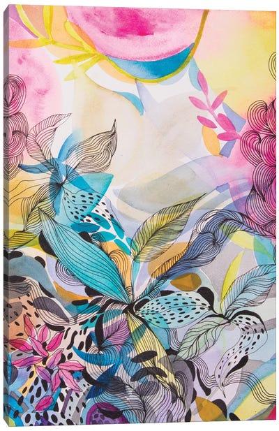 The Sea Garden Canvas Art Print
