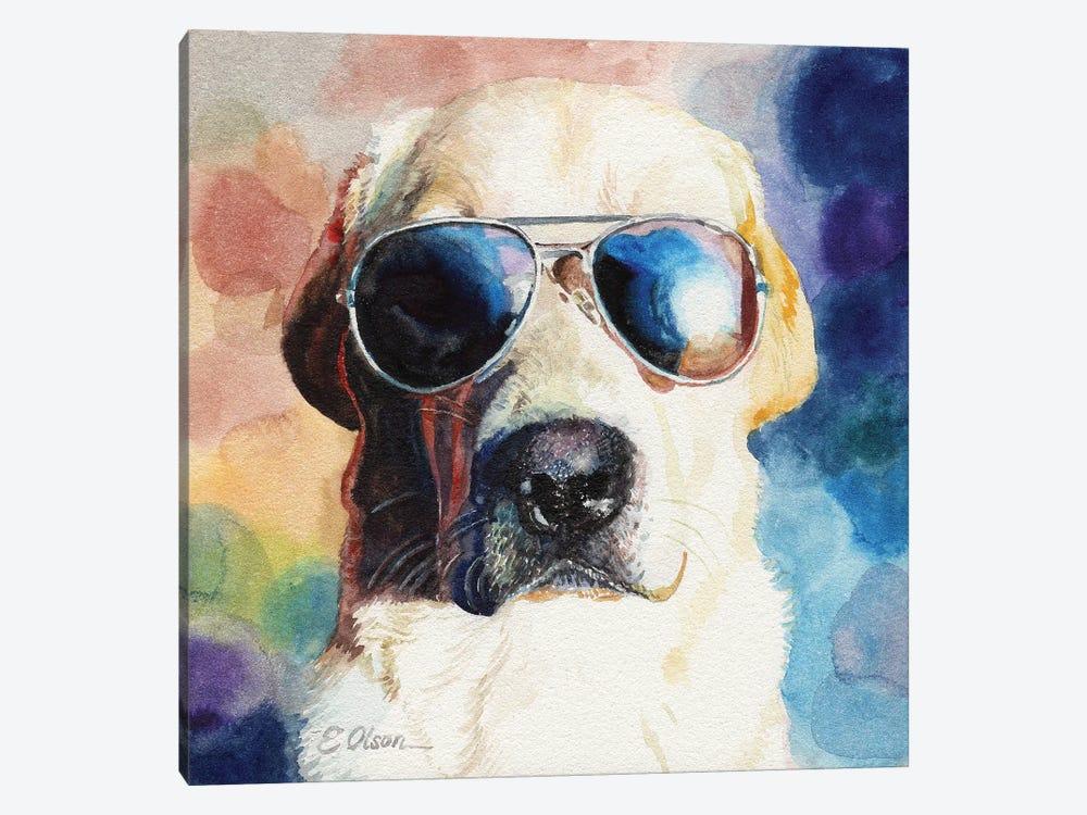 Bad Cop by Watercolor Luv 1-piece Canvas Print