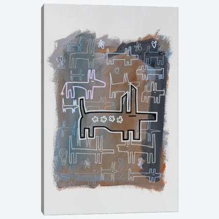 W***! Canvas Print #WLW18} by Well Well Canvas Print