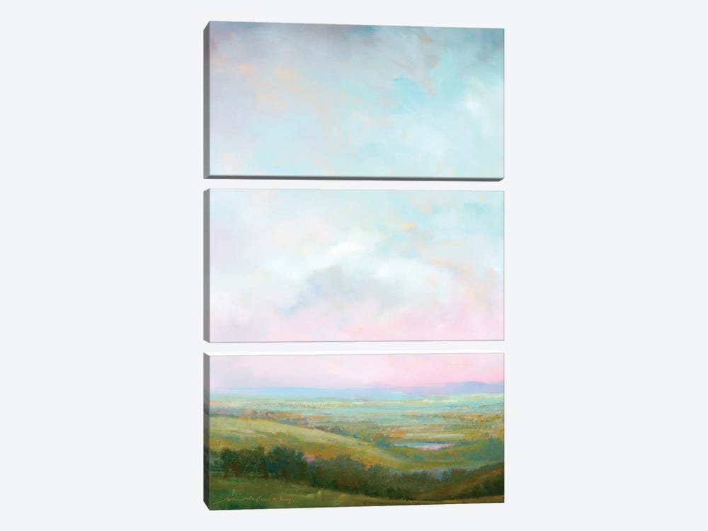 Evening Glow by William McCarthy 3-piece Canvas Artwork