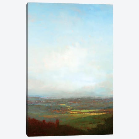 Green Valley Below Canvas Print #WMC2} by William McCarthy Art Print