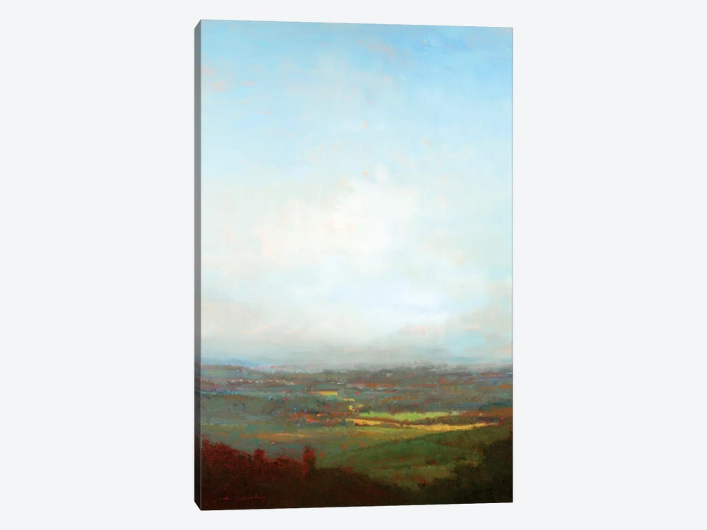 Green Valley Below by William McCarthy 1-piece Art Print