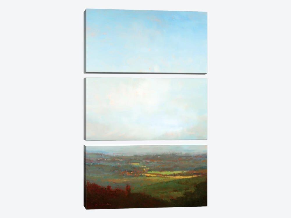Green Valley Below by William McCarthy 3-piece Canvas Art Print