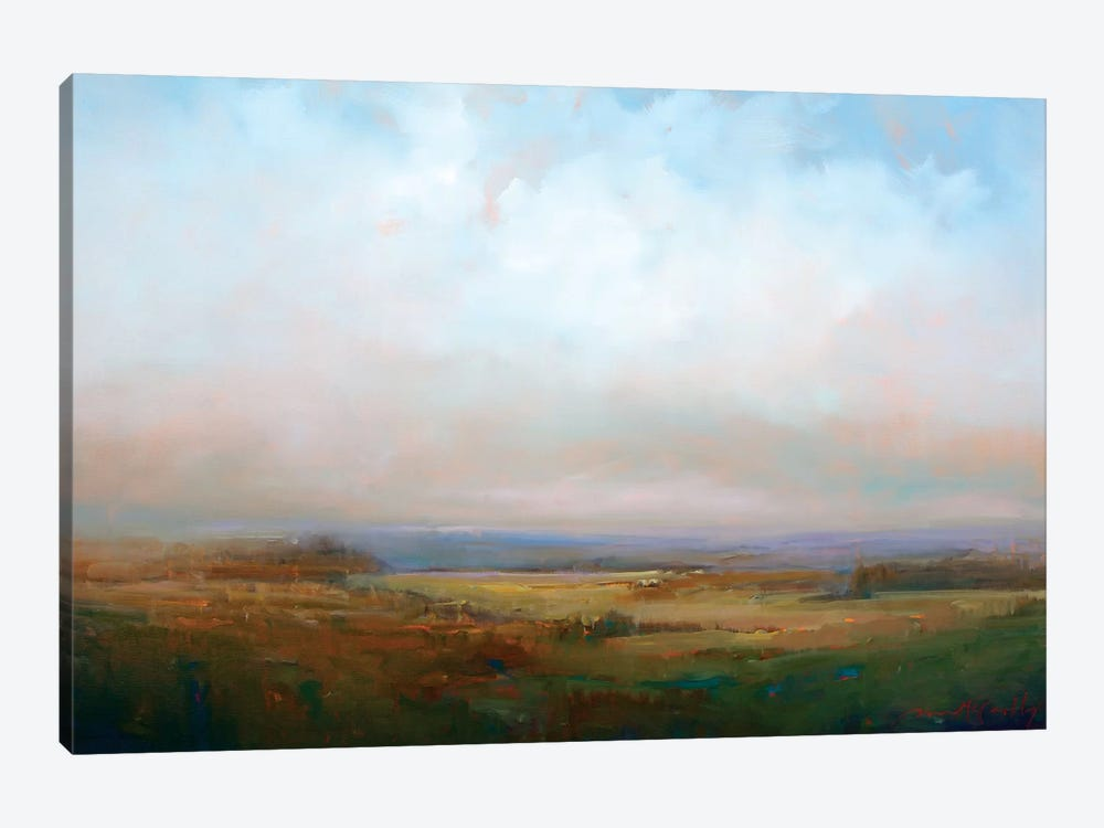 Into The Foothills by William McCarthy 1-piece Art Print