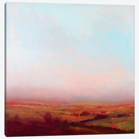 Misty Orange And Red Canvas Print #WMC6} by William McCarthy Canvas Art