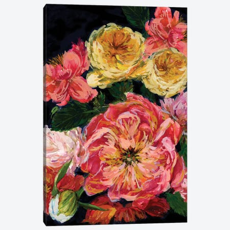 Vintage Bouquet III Canvas Print #WNG100} by Melissa Wang Canvas Print