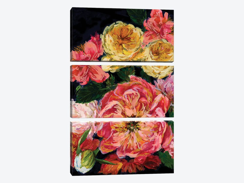 Vintage Bouquet III by Melissa Wang 3-piece Canvas Art
