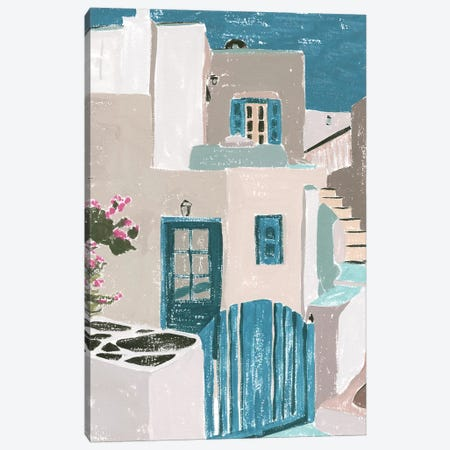 La Isla II Canvas Print #WNG1019} by Melissa Wang Art Print