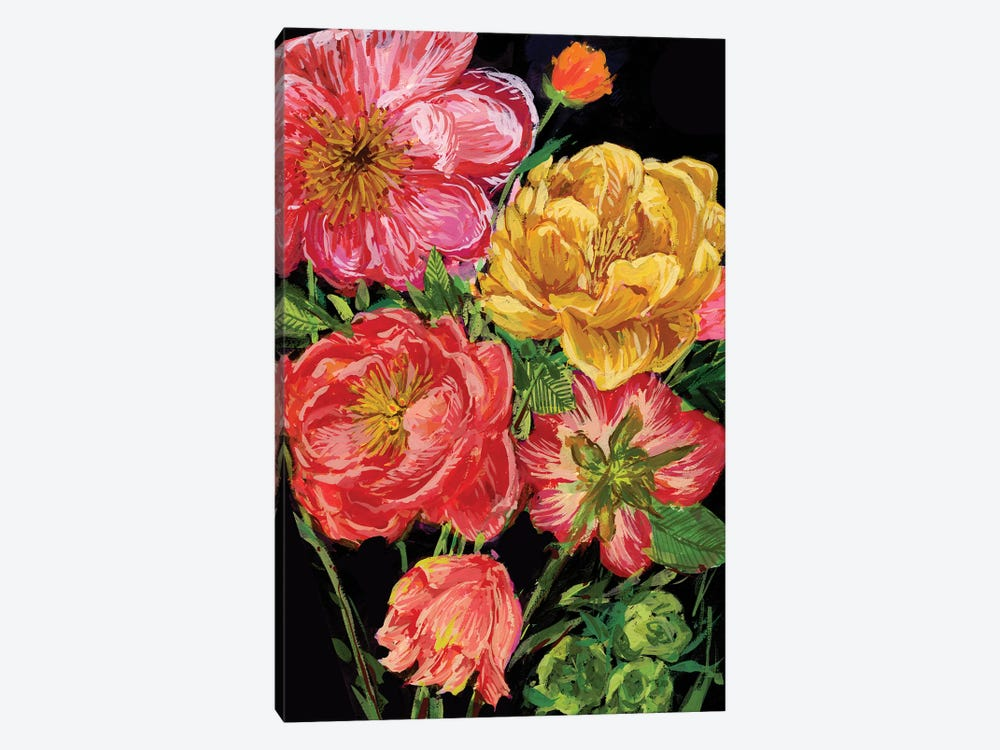 Vintage Bouquet IV by Melissa Wang 1-piece Canvas Art Print