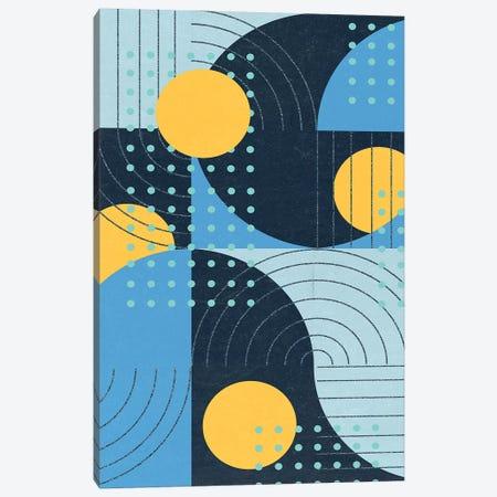 Moonlit Surf I Canvas Print #WNG1022} by Melissa Wang Canvas Art