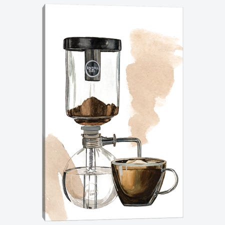 Morning Coffee II Canvas Print #WNG1024} by Melissa Wang Canvas Print