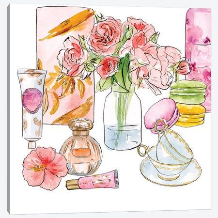 Morning Glamour I Canvas Print #WNG1027} by Melissa Wang Canvas Art Print
