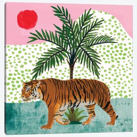 Tiger at Sunrise II Canvas Print #WNG1056} by Melissa Wang Canvas Wall Art