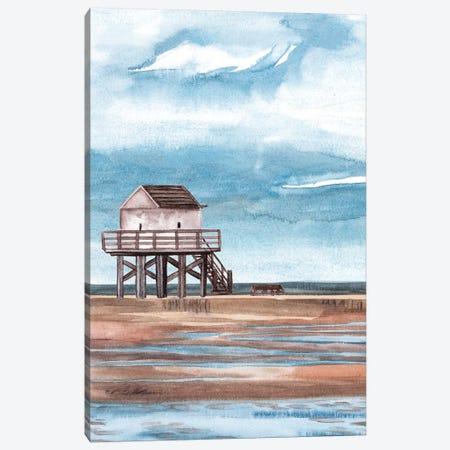 Along the Shoreline II Canvas Print #WNG1066} by Melissa Wang Canvas Print