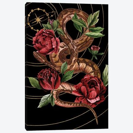 Burn and Shine II 3-Piece Canvas #WNG1072} by Melissa Wang Canvas Print