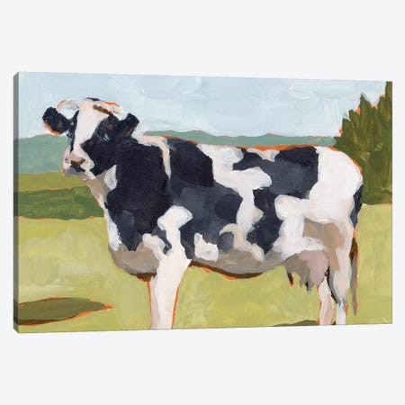 Cow Portrait II Canvas Print #WNG1094} by Melissa Wang Canvas Artwork