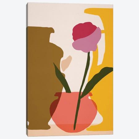 Flower Dance I Canvas Print #WNG1107} by Melissa Wang Canvas Art