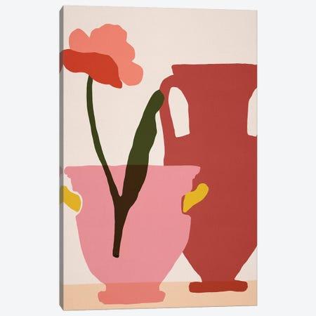Flower Dance II Canvas Print #WNG1108} by Melissa Wang Art Print