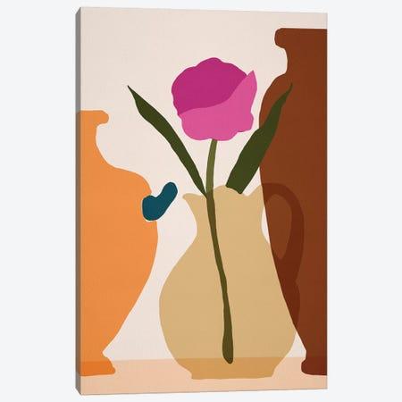 Flower Dance III Canvas Print #WNG1109} by Melissa Wang Art Print