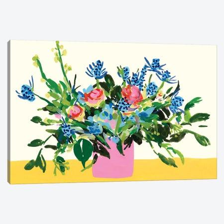Grand Bouquet I Canvas Print #WNG1115} by Melissa Wang Art Print