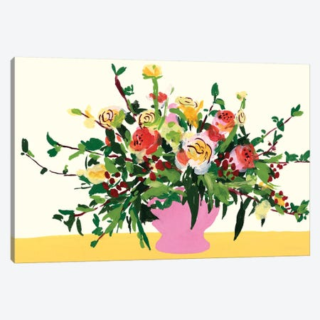 Grand Bouquet II Canvas Print #WNG1116} by Melissa Wang Canvas Art Print