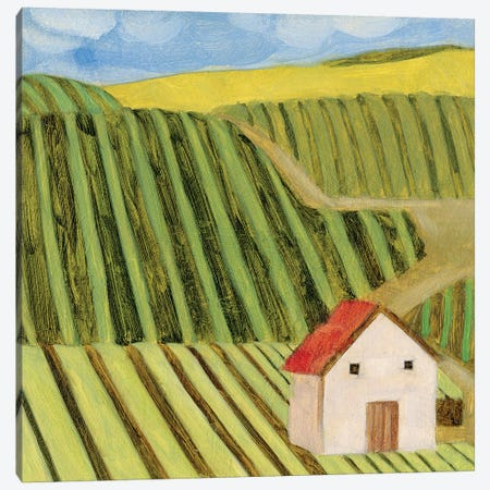 Mountain House I Canvas Print #WNG1133} by Melissa Wang Canvas Art
