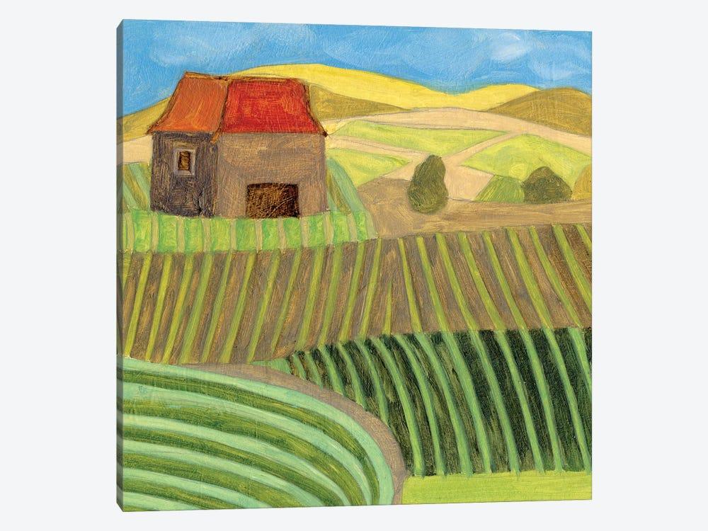 Mountain House II by Melissa Wang 1-piece Art Print