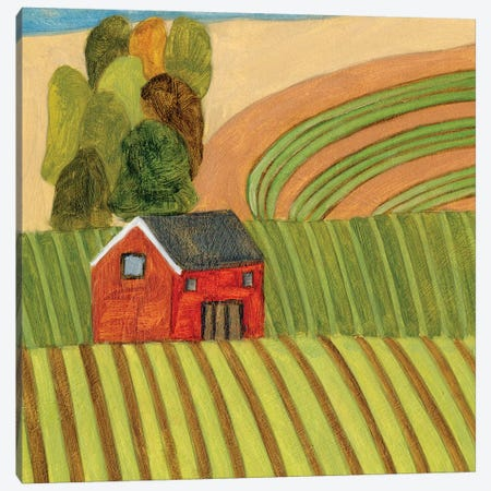 Mountain House III Canvas Print #WNG1135} by Melissa Wang Canvas Art Print