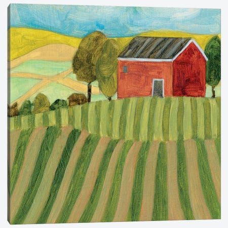 Mountain House IV Canvas Print #WNG1136} by Melissa Wang Canvas Print