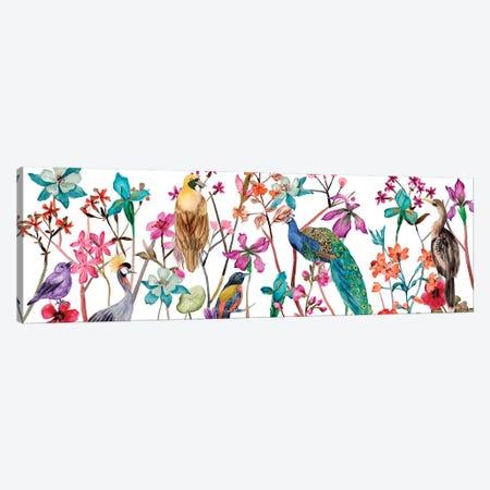 Tangled Garden V Canvas Print #WNG1162} by Melissa Wang Art Print