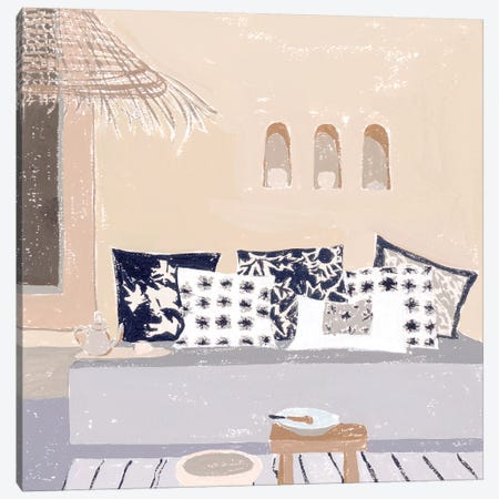 The Salty Breeze II Canvas Print #WNG1164} by Melissa Wang Canvas Art